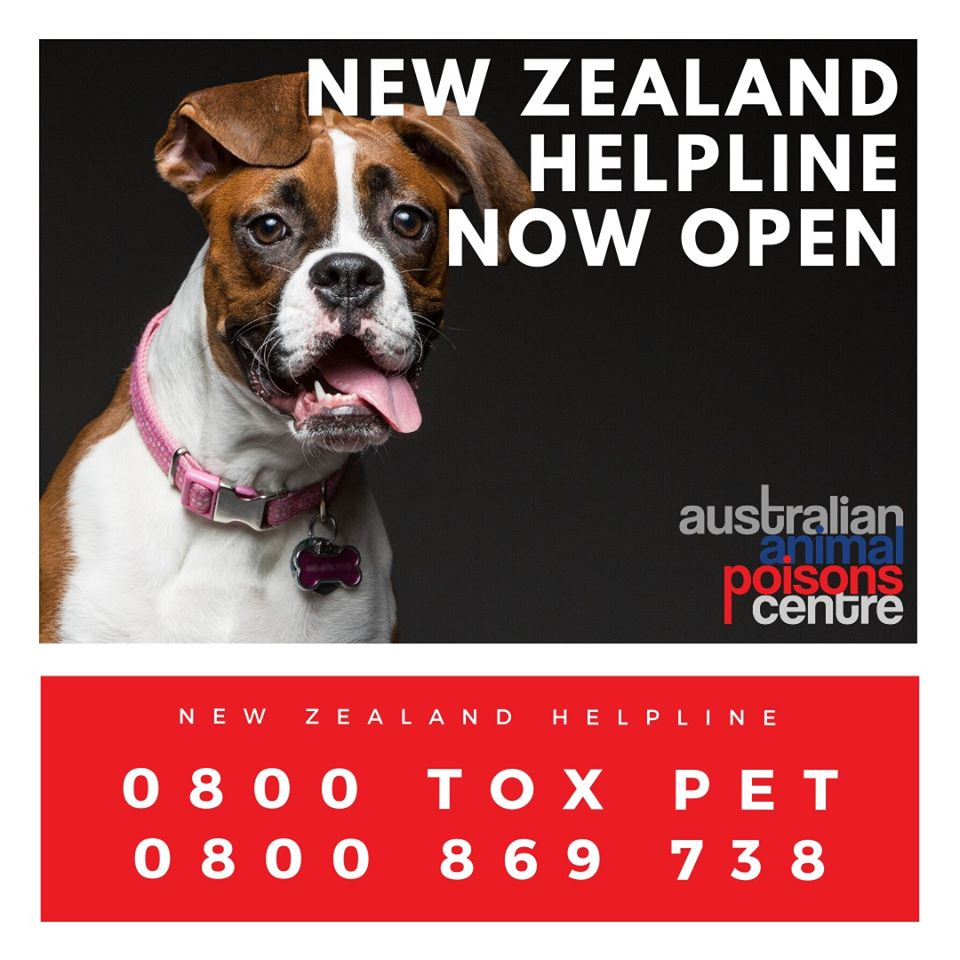 new zealand animal poisons helpline
