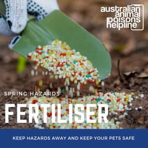 fertiliser and pets